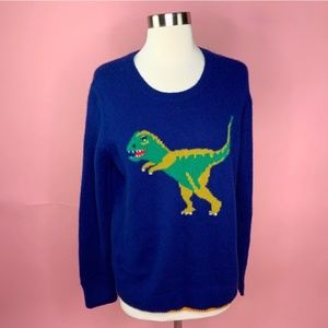 Coach 100% Cashmere Original Rexy Crewneck Sweater